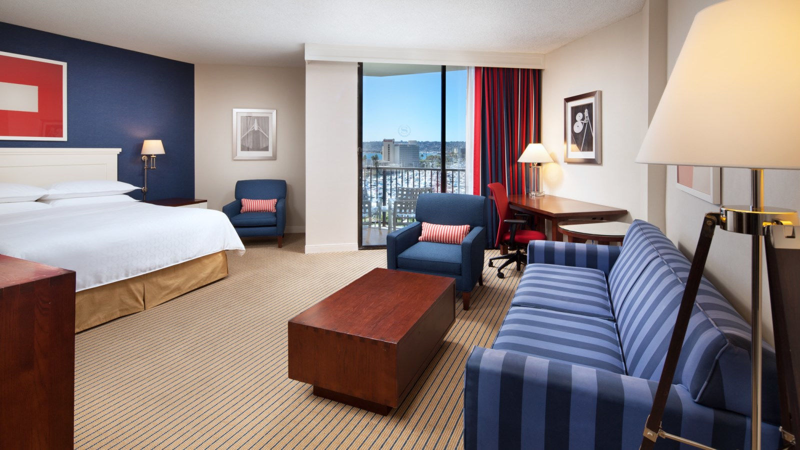 Sheraton San Diego Hotel & Marina - Pacific Suite
