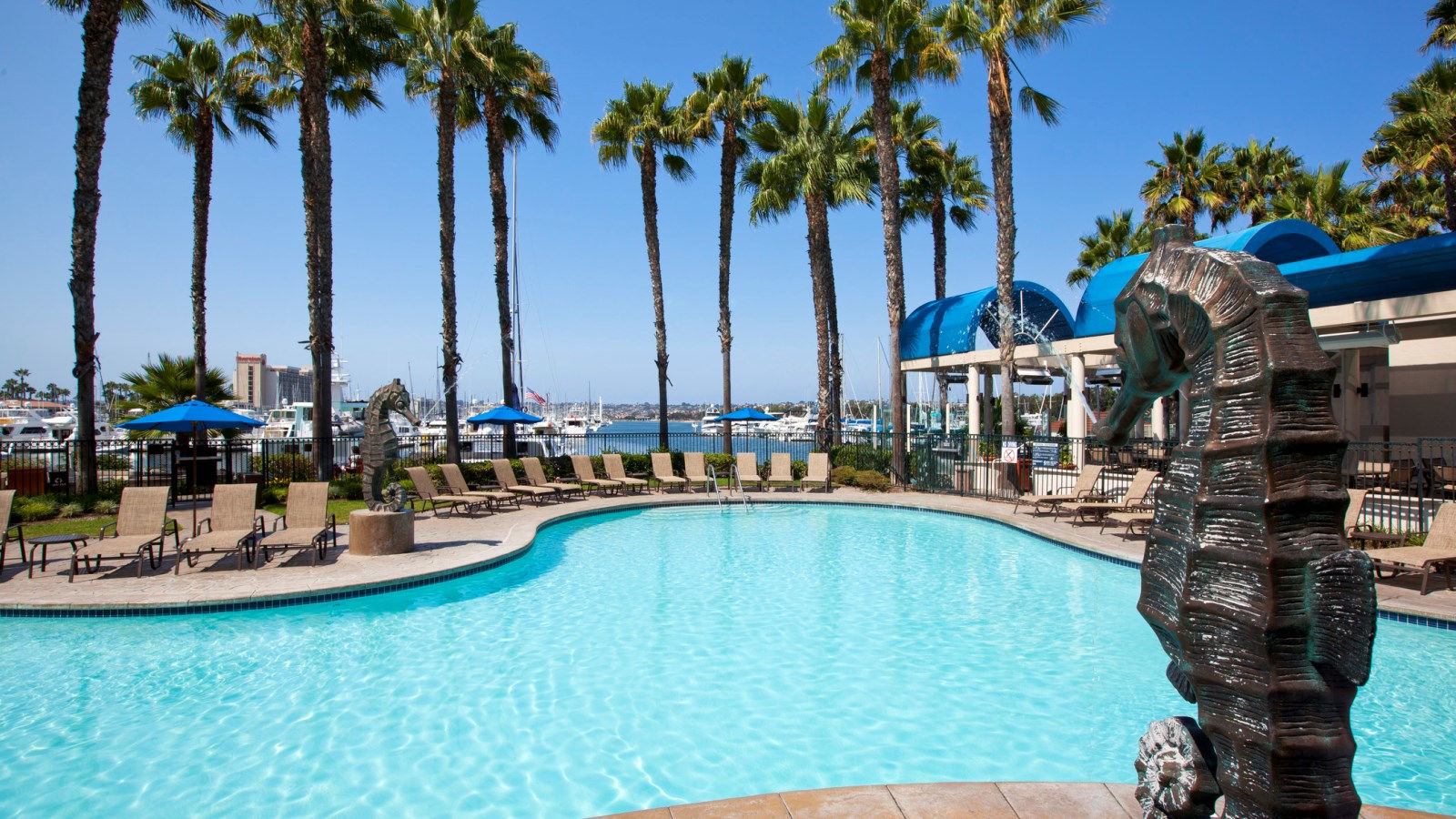Sheraton San Diego hotel with pools